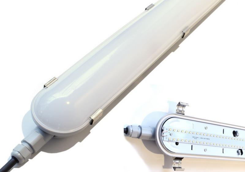 Solution SIGMA-PRO reglette etanche avec circuit LED intégré