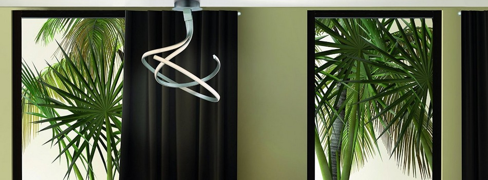 Plafonnier interieur led et lustre design pour l 39 int rieur for Plafonnier suspendu design