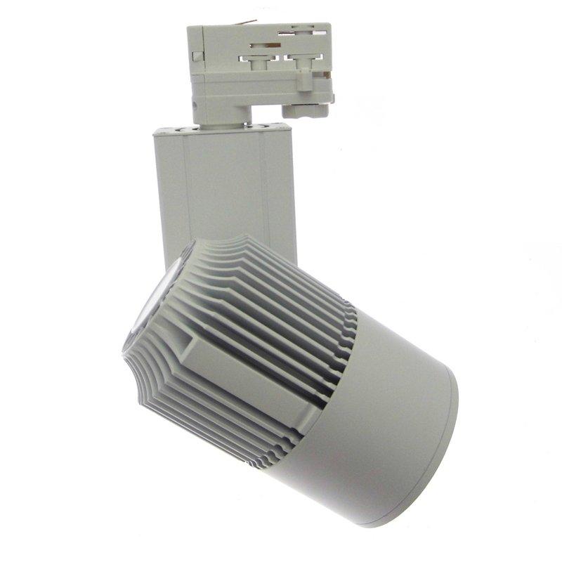 canada projecteur led sur rail 3200 lumens blanc chaud 3000 k pour l 39 clairage des magasins. Black Bedroom Furniture Sets. Home Design Ideas