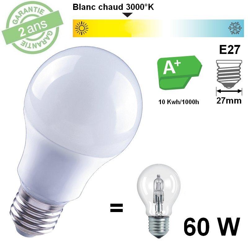 lampe standard 9w led 3000 k 850 lm. Black Bedroom Furniture Sets. Home Design Ideas