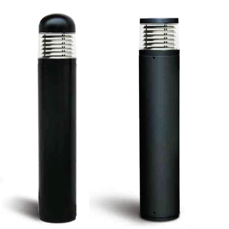 borne solide ik10 pour l 39 eclairage exterieur residentiel equip e pour des lampes iodure 70w. Black Bedroom Furniture Sets. Home Design Ideas
