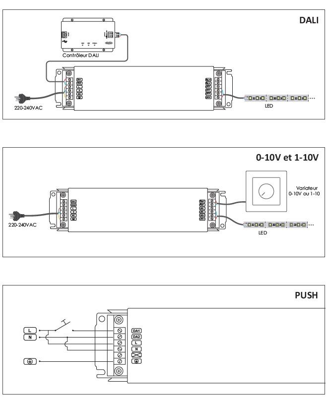Jeune Universal tastdimmer DEL variateur 1711de Capteur variateur