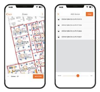 Mise en service HUBSENCE avec l'application pour smartphone