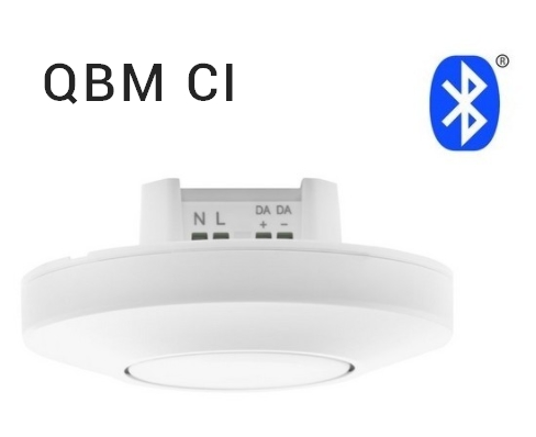QBM CI capteur de luminosité et présence plus controleur DALI