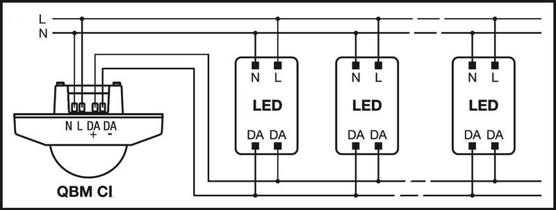 Mise en oeuvre d'une gestion d'éclairage avec QBM CI