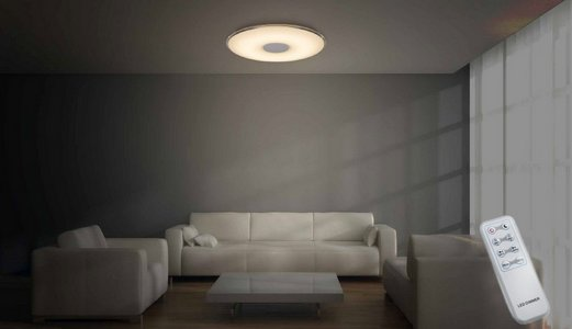Plafonnier LED dimmable couleur ajustable