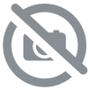 Ligne continue LED en suspension, éclairage direct, section 47x75mm